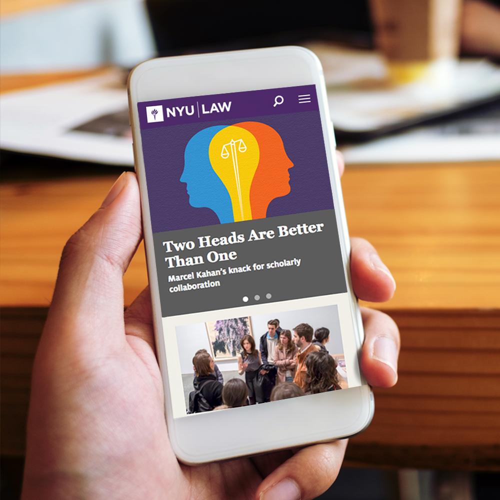 NYU Law School – Luis F  Delgado