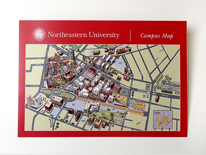 Northeastern\'s Campus Map – Luis F. Delgado